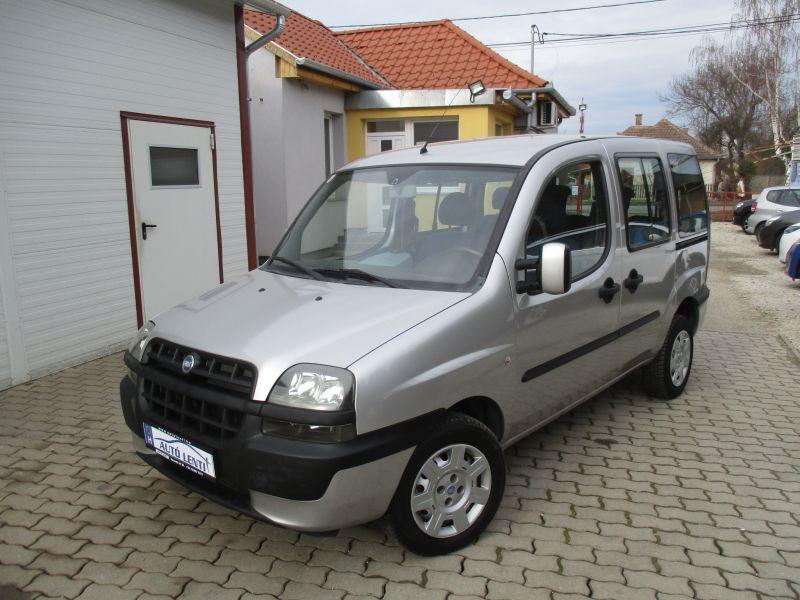 Fiat Doblo 1.9 JTD Szervizk. 1.Tul